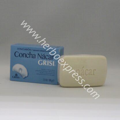 grisi jabon concha nacar (1)